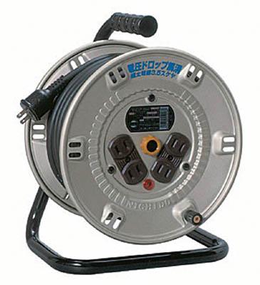 日動 電工ドラム スタミナリール 100V 2芯 20m 【1台】【NP204F】(コードリール・延長コード/コードリール100V)