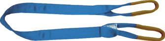 シライ シグナルスリング S3E 両端アイ形 幅50mm 長さ4.0m 【1本】【S3E50X4.0】(吊りクランプ・スリング・荷締機/ベルトスリング)