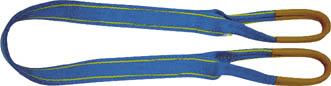 シライ シグナルスリングHG 両端アイ形 幅75mm 長さ2.0m 【1本】【SG4E752】(吊りクランプ・スリング・荷締機/ベルトスリング)