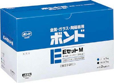 コニシ ボンドEセットM 2kgセット 箱 中粘度 新品 送料無料 大好評です M 補修剤 接着剤2液タイプ 1S BE2 接着剤 #45127