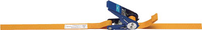 キトー ベルトラッシング ラチェットバックル式フックAタイプ 【1個】【BLR030HA010HA060】(吊りクランプ・スリング・荷締機/荷締機)