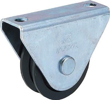MK 枠付重量車 105mm V型 【1個】【C1000105】(建築金物/戸車)