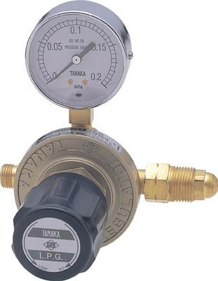 日酸TANAKA ガス流量調整器 LPG用 マスター3 【1個】【LQ622WD】(溶接用品/ガス調整器)