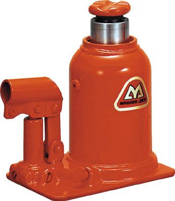 マサダ 標準オイルジャッキ 15TON 【1台】【MHB15】7.9kg(ウインチ・ジャッキ/油圧ジャッキ)
