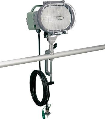 ハタヤ 瞬時再点灯型150Wメタルハライドライト5m電線付バイス取付タイプ【1台】【MLV105KH】(作業灯・照明用品/投光器)