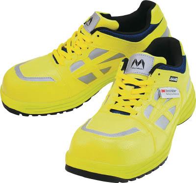 丸五 マンダムセーフティー#781 イエロー 27.5cm 【1足】【MNDM781Y275】(安全靴・作業靴/プロテクティブスニーカー)