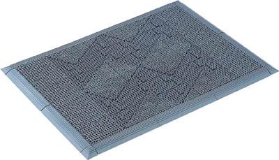 TRUSCO(トラスコ) プロブラシマット 700X1000mm グレー 【1枚】【PBM0710】(床材用品/玄関マット)