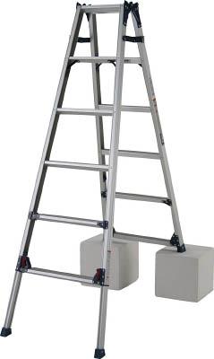 ピカ 四脚アジャスト式脚立かるノビSCL型6~7尺 【1台】【SCL210A】(はしご・脚立/脚立)