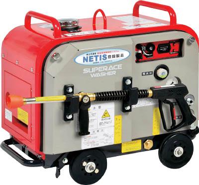 スーパー工業 ガソリンエンジン式 高圧洗浄機 SEV-2108SS(防音型) 【1台】【SEV2108SS】(清掃機器/高圧洗浄機)