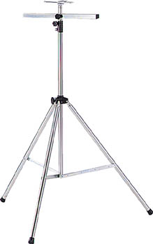 TRUSCO 投光器用三脚スタンド 【1台】(作業灯・照明用品/投光器)