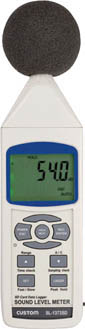 カスタム デジタル騒音計 【1個】【SL1373SD】(計測機器/環境測定器)
