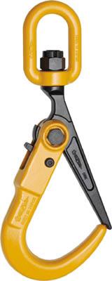 スーパー スーパーロックフック スイベル付 2ton 【1個】【SLH2S】(吊りクランプ・スリング・荷締機/フック)