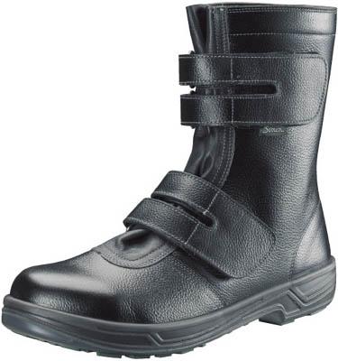 シモン 安全靴 長編上靴マジック式 SS38黒 26.5cm 【1足】【SS3826.5】(安全靴・作業靴/安全靴)