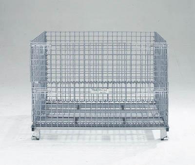 TRUSCO(トラスコ) ネットパレット 1200X1000X890 クロムフリー 【1台】【T1012AG】(コンテナ・パレット/メッシュパレット)