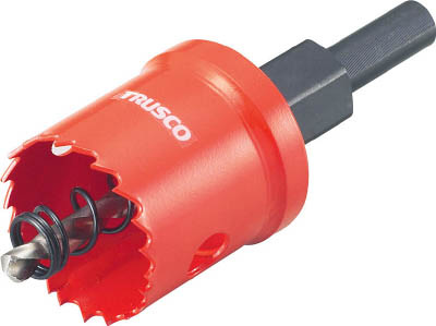 TRUSCO(トラスコ) TSLホールカッター 150mm 【1本】【TSL150】(穴あけ工具/ホールソー)