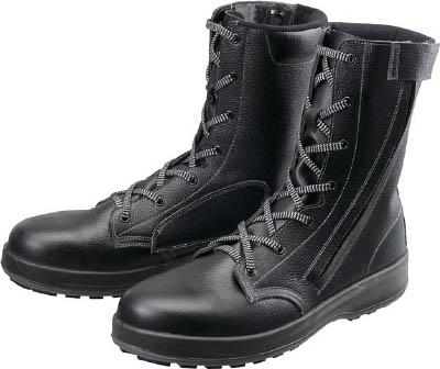シモン 安全靴 長編上靴 WS33黒C付 23.5cm 【1足】【WS33C23.5】(安全靴・作業靴/安全靴)