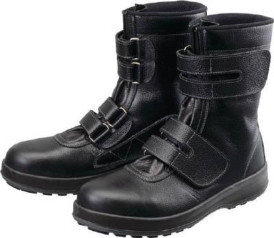 シモン 安全靴 長編上靴 マジック WS38黒 24.5cm 【1足】【WS3824.5】(安全靴・作業靴/安全靴)