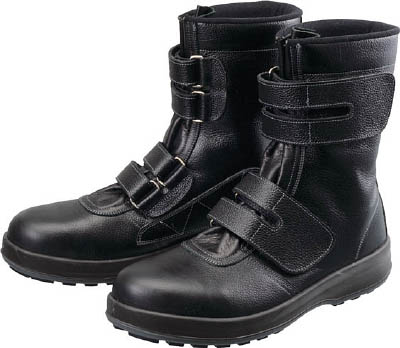 シモン 安全靴 長編上靴 マジック WS38黒 26.5cm 【1足】【WS3826.5】(安全靴・作業靴/安全靴)