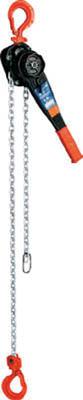 象印 YA型 チェーンレバーホイスト 1t 【1台】【YA01015】】(6.2kg レバー長268mm)(チェンブロック・クレーン/レバーホイスト)
