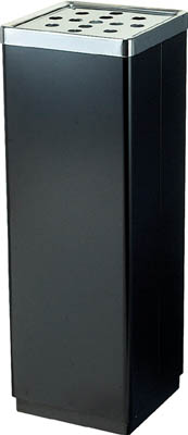 コンドル (灰皿)スモーキング YS-106B 黒 【1台】【YS07LID21】(清掃用品/灰皿)