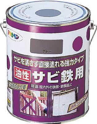 アサヒペン 油性サビ鉄用1.8L 赤さび 【1缶】【518422】(塗装・内装用品/塗料)