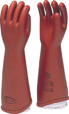 ワタベ 電気用ゴム手袋NU型大 【1双】【540L】(作業手袋/絶縁手袋)