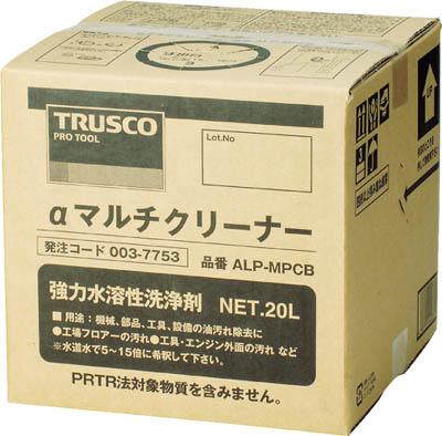 TRUSCO(トラスコ) αマルチクリーナー 20L 【1個】【ALPMPCB】(清掃用品/洗剤・クリーナー)