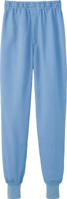 サンペックス クールフリーデ男女兼用ホッピングパンツ サックス L(保護具/食品工場向けウェア)