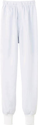 サンペックス クールフリーデ男女兼用ホッピングパンツ ホワイト 3L(保護具/食品工場向けウェア)