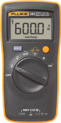 FLUKE ポケットサイズ・マルチメーター 【1台】【101】(計測機器/マルチメーター)
