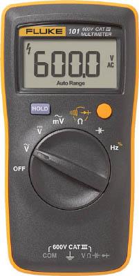 FLUKE ポケットサイズ・マルチメーター(ストラップ付コンボキット) 【1台】【101KIT】(計測機器/マルチメーター)