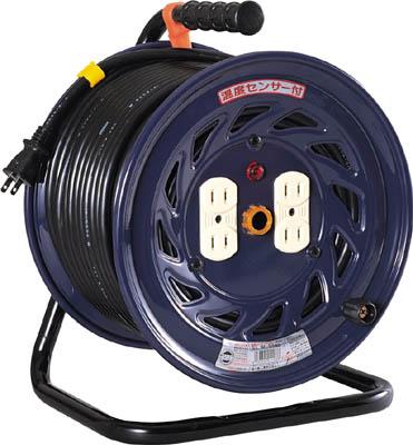 日動 電工ドラム 標準型100Vドラム 2芯 50m 【1台】【NF504D】(コードリール・延長コード/コードリール100V)