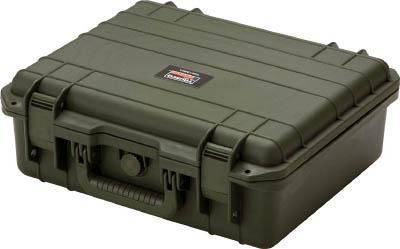 TRUSCO プロテクターツールケース オリーブ L 【1個】【TAK13ODL】(トラスコ)(工具箱・ツールバッグ/プロテクターツールケース)