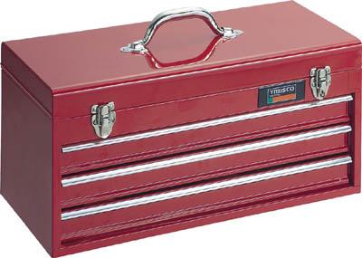 迅速な対応で商品をお届け致します メーカー直送 代引不可 新作 TRUSCO トラスコ キャビネットツールボックス 533X241X273 TCBOX3R スチール製工具箱 工具箱 1個 ツールバッグ
