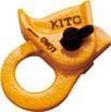 キトー クリップ ワイヤー16から20mm用 【1S】【KC200】(チェンブロック・クレーン/レバーホイスト)