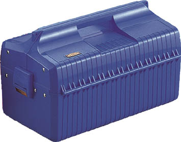 TRUSCO(トラスコ) メンテナンスBOX 青【1個】【GS410B】(工具箱・ツールバッグ/樹脂製工具箱)