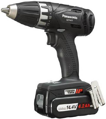 Panasonic ドリルドライバ14.4V 4.2Ah(ブラック)【EZ7441LS2SB】【1台】(電動工具・油圧工具/ドリルドライバー)