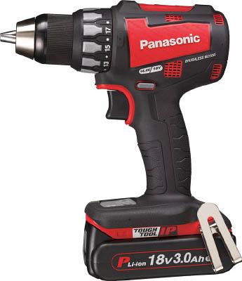 3.0Ah (赤)【EZ74A2PN2GR】【1台】(電動工具・油圧工具/ドリルドライバー) 18V Panasonic 充電ドリルドライバー