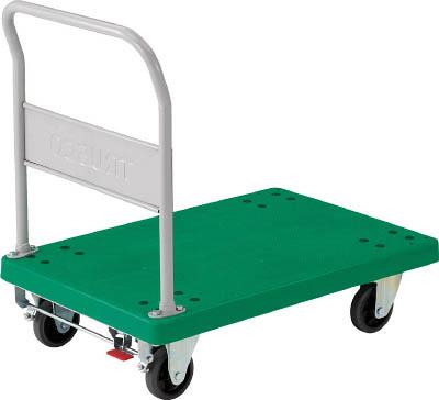 TRUSCO グランカート 固定 900X605 S付(運搬台車/樹脂製運搬車)