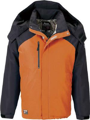 ジーベック 232アルミ蓄熱ブルゾン オレンジ M(冷暖対策用品/寒さ対策用品)