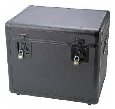 【メーカー直送】※代引不可※TRUSCO(トラスコ) 万能アルミ保管箱 黒 610X457X508 【1個】【TAC610BK】(工具箱・ツールバッグ/アルミケース)