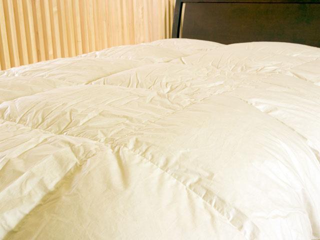 新生活 羽毛布団シングルサイズ(シングルベッド対応)