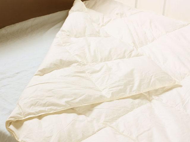 羽毛布団 シングル 新生活【肌掛け】羽毛布団シングルサイズ(シングルベッド対応)