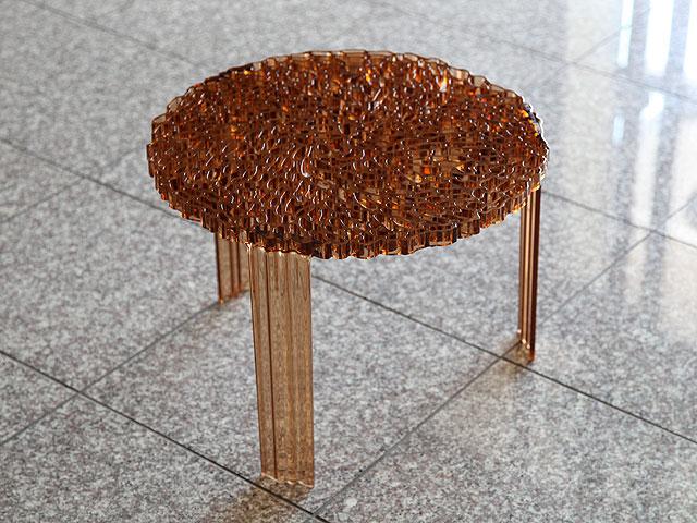 【Kartell(カルテル)】T-Table Mサイズ 【サイドテーブル ナイトテーブル】