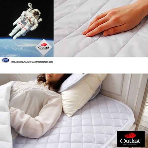 アウトラスト ベッドパッド (セミダブル) 敷きパッド 敷パッド ベッドパット ベットパッド ベットパット