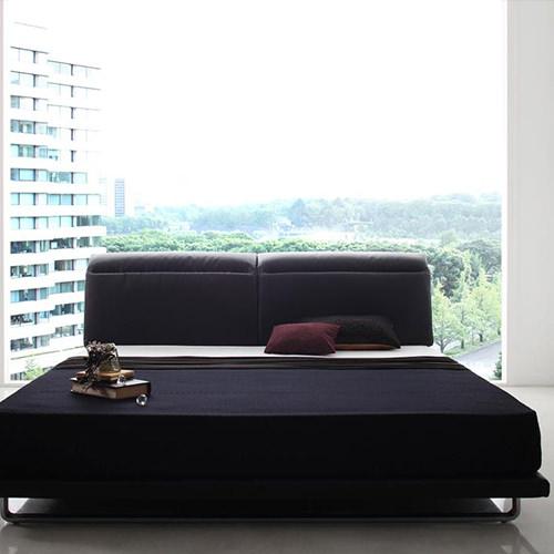 ベッド ベット ロー クイーン ブラック ホワイト 幅:160cm~169cm 奥行き:200cm以上 高さ:90cm~99cm キャスター無し 既成品 エレガント クラシック デザイナーズ モダン ラグジュアリー クイーン 木製 ボンネルコイル ローベッド 設置対応可 組立対応可 要組立品