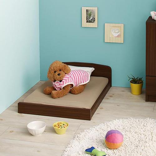 癒しの空間 ミニチュアサイズが可愛い木製ペットベッド