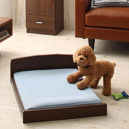 癒しの空間 ミニチュアサイズが可愛い木製ペットベッド (専用別売品)