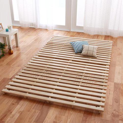 ベッド セミダブル すのこ 折りたたみ シンプル ベット セミダブルベッド セミダブルサイズ セミダブルタイプ すのこタイプ すのこ板 すのこ式 すのこ式ベッド 折り畳み 折りたたみ式 折たたみタイプ 折りたためる クラシック モダン クラシックタイプ すのこベッド