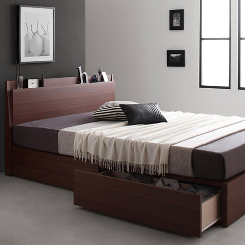 シングル ベッド ワンルーム 収納 かっこいい ベット シングルベッド シングルサイズ シングルタイプ 1人暮らし 1人暮らし向け 80cm 90cm 1人暮らし用 ワンルームサイズ 収納付き 大容量 収納タイプ 収納つき 大容量ベッド カッコいい スタイリッシュ 男前 ワンルームベッド